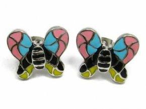 """Náušnice """"Coloured Butterfly"""""""