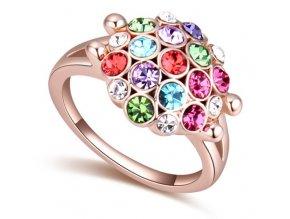 Exkluzívny prsteň SW Flower