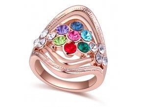 Exkluzívny prsteň Multicolor