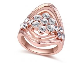 Exkluzívny prsteň Crystal
