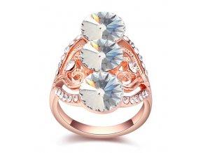 Exkluzívny prsteň SW tri kryštály