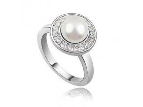 SWI crystal ring Pearl 1657